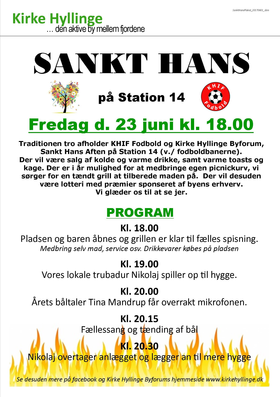Sankt Hans på Station 14